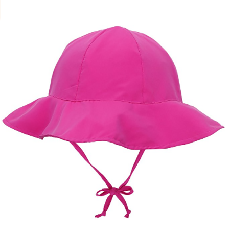 2 to 4 Years i play UV Breathable Swim and Sun Bucket Hat Light Pink