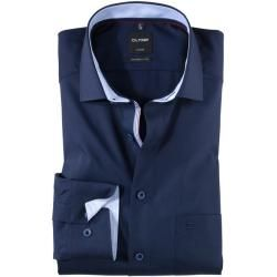 Photo of Olymp Luxor shirt, modern fit, Global Kent, cobalt, 40 Olymp