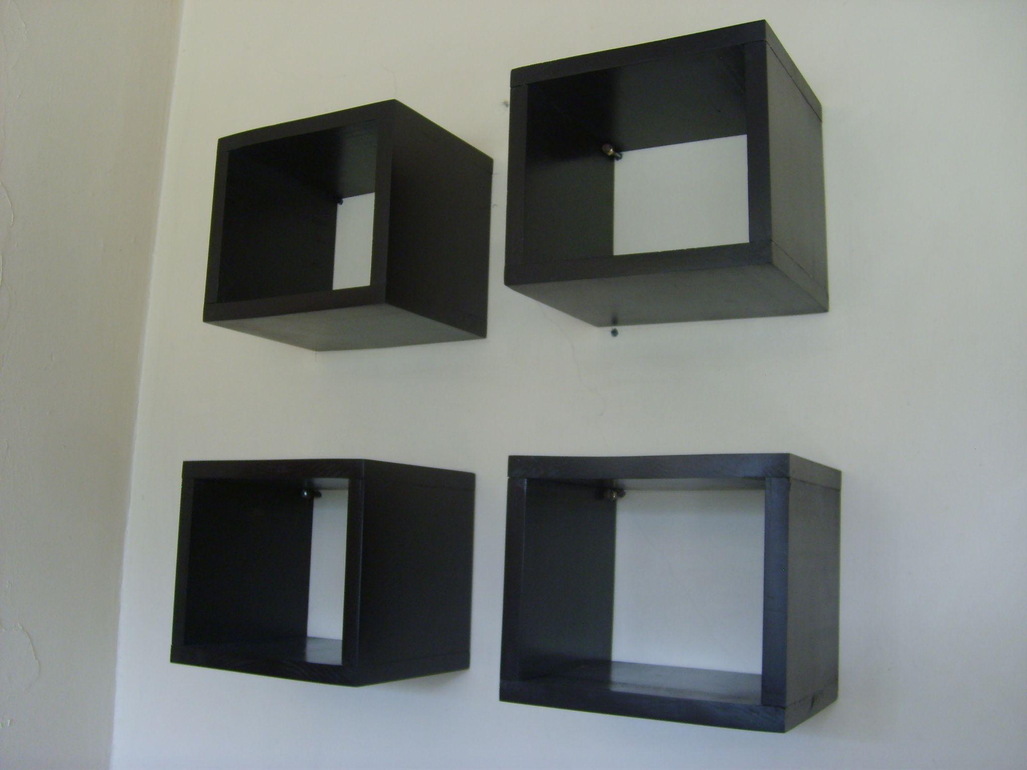 Repisas cubo modular.