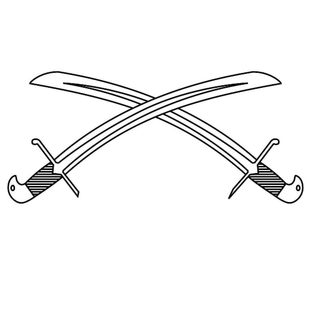 Free Clipart Crossed Swords Svg Free Clip Art Clip Art Svg