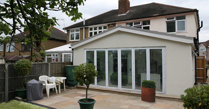 Pitched Roof Rear Extension Garden Room Extensions Kitchen Extension