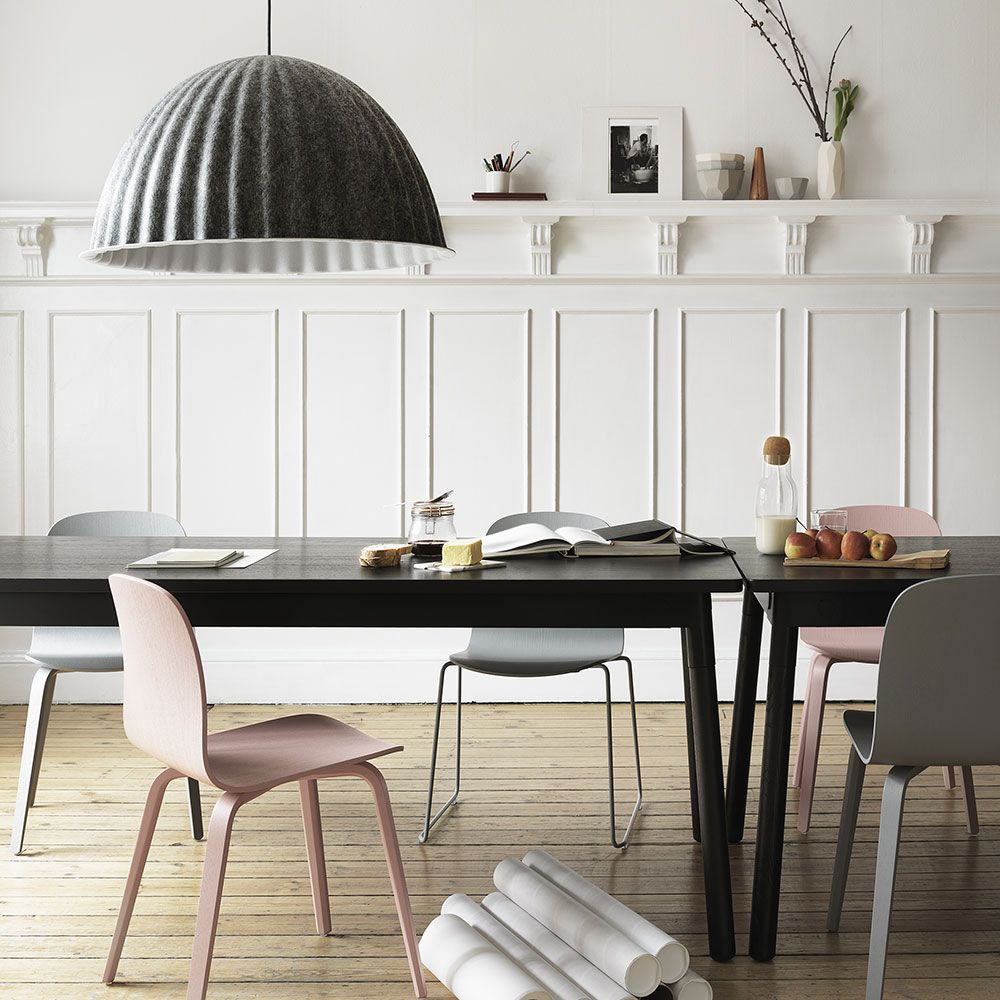 The Muuto Visu Chair in Grey with