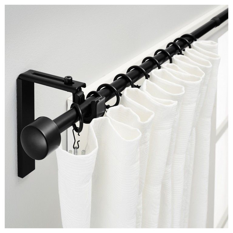 Large Curtain Rods Long Tension Rod Extra Lengths