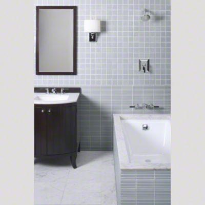 Master Bath | Kallista Tuxedo Collection by Barbara Barry ...