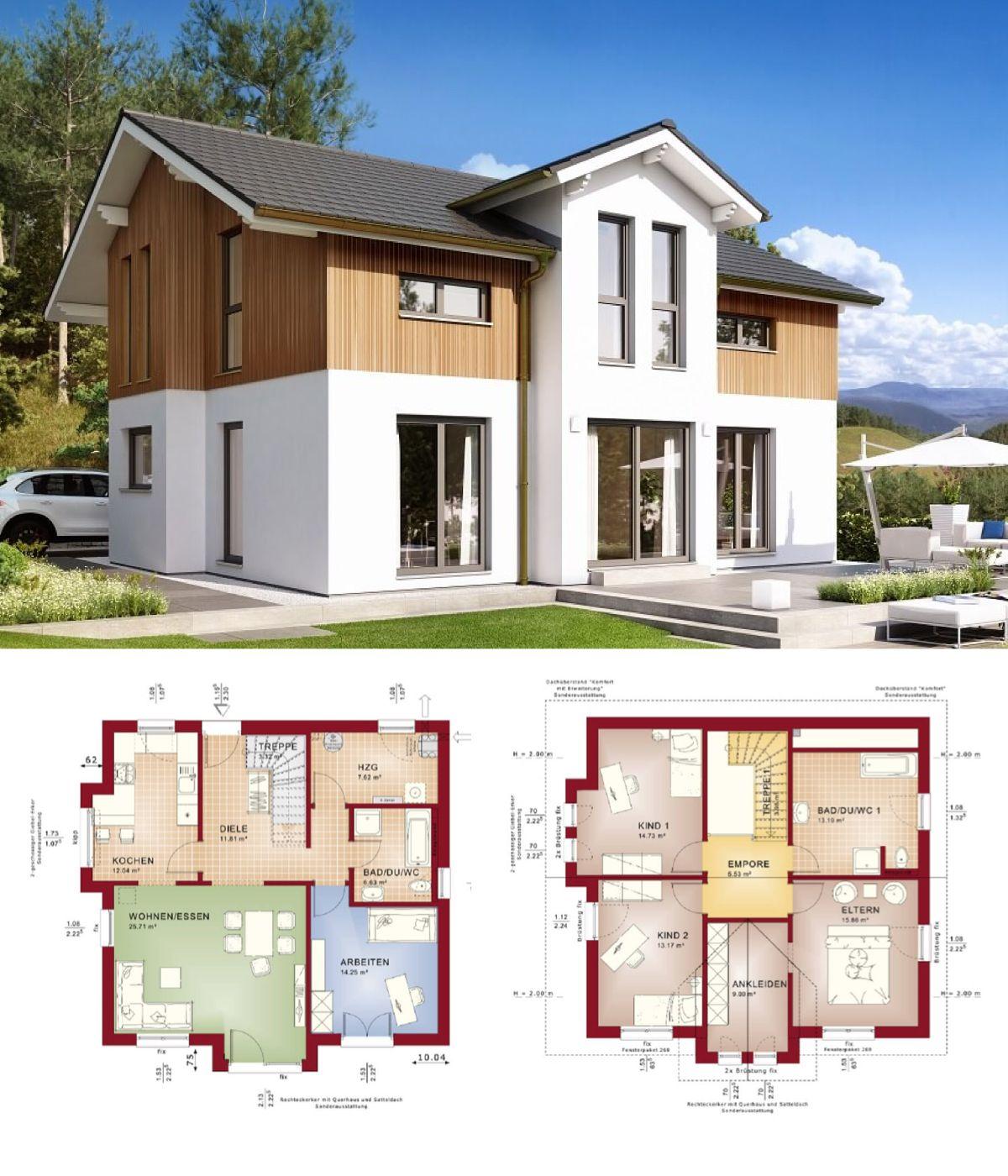 landhaus moderner alpenstil haus celebration 150 v8 bien zenker einfamilienhaus bauen. Black Bedroom Furniture Sets. Home Design Ideas