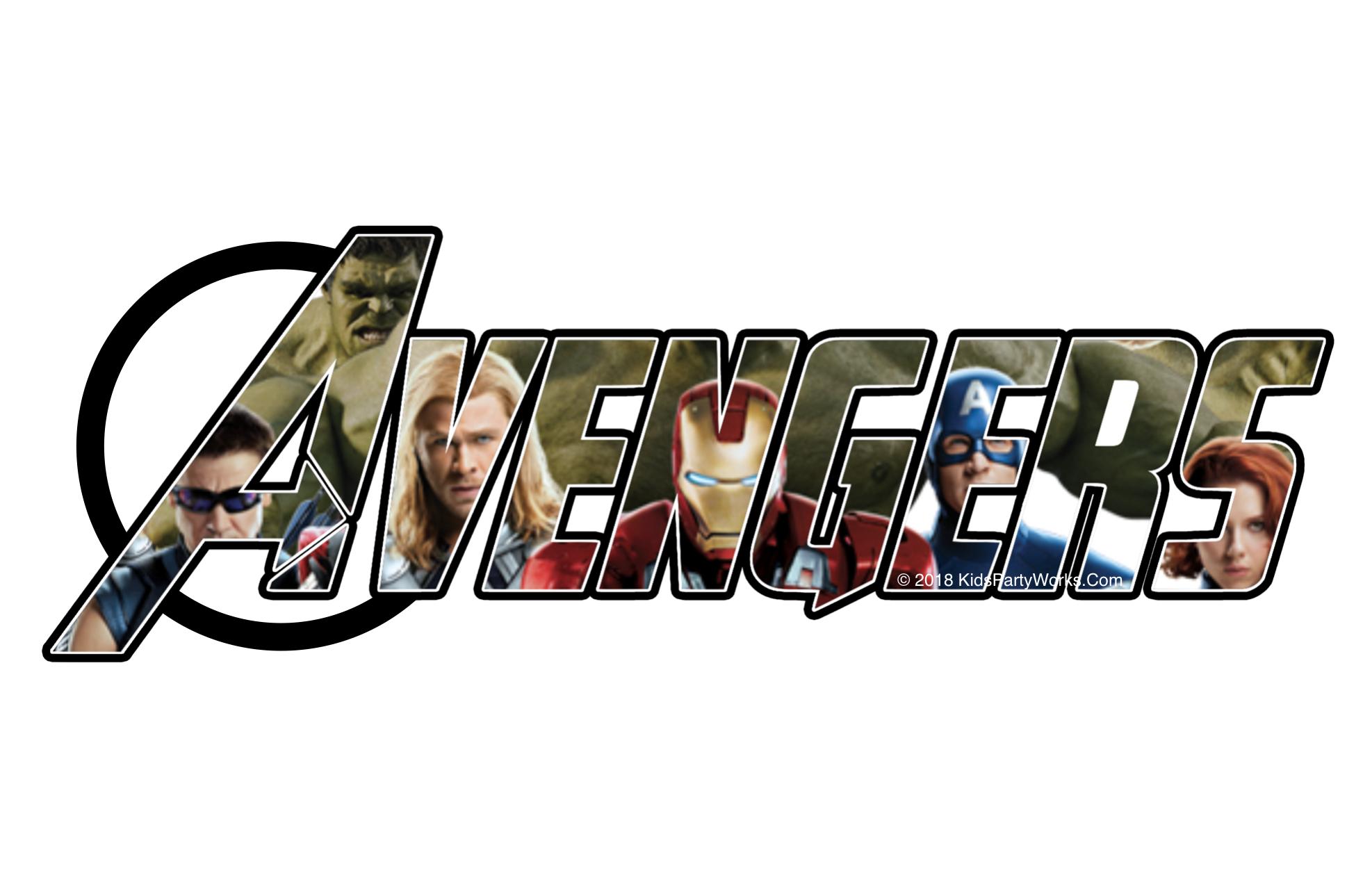 Free Disney Font Avengers Party Avengers Font