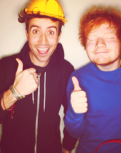 Nick Grimshaw  Ed Sheeran
