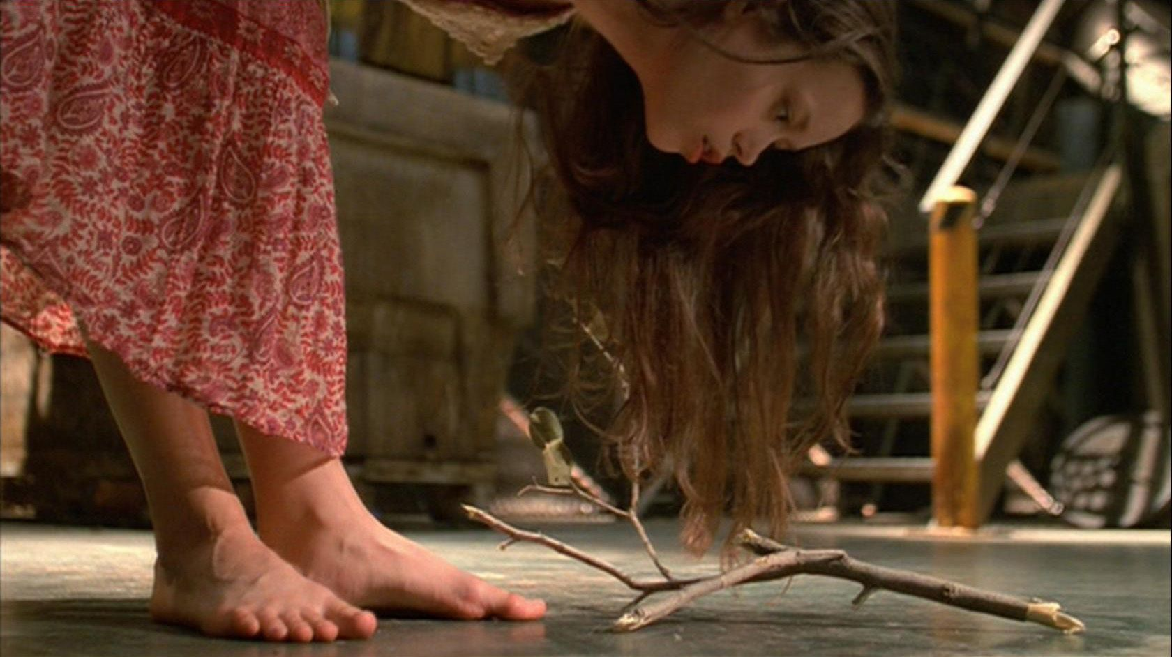 Summer glau feet