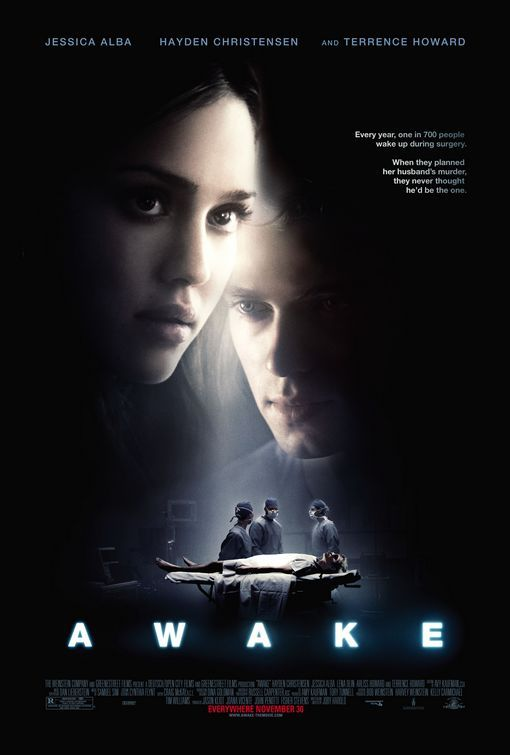 Awake 2007 The Story Focuses On A Man Who Suffers Anesthetic