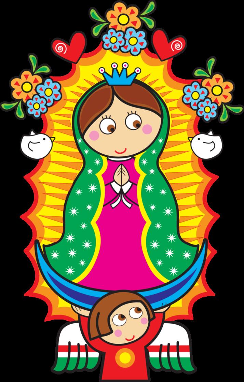 Dibujo Animado De La Virgen De Guadalupe Para Descargar Virgencita De Guadalupe Caricatura Imagenes De La Virgen Virgen Caricatura