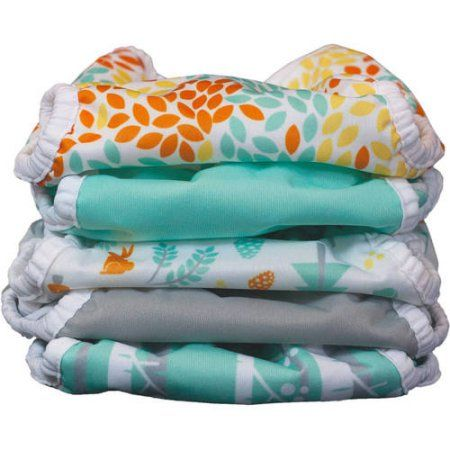 Thirsties Snap Duo Wrap Woodland Collection, 5 pc