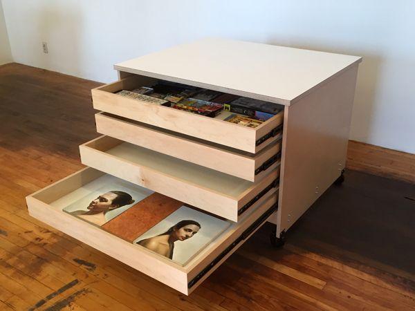 Art And Art Supply Storage Drawers Are Made By Art Boards Art Supply In The Usa Art Storage Art Studio Storage Storage