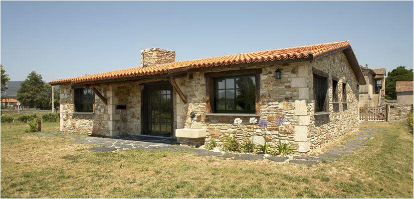 Construcciones r sticas gallegas casas r sticas de piedra inicio casa silvania pinterest - Casas prefabricadas madera y piedra ...