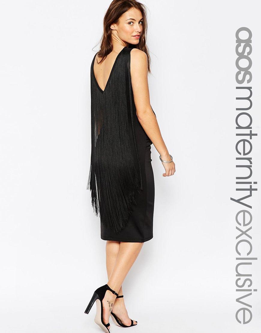 Asos maternity bodycon dress with fringe back what to wear asos maternity bodycon dress with fringe back ombrellifo Choice Image
