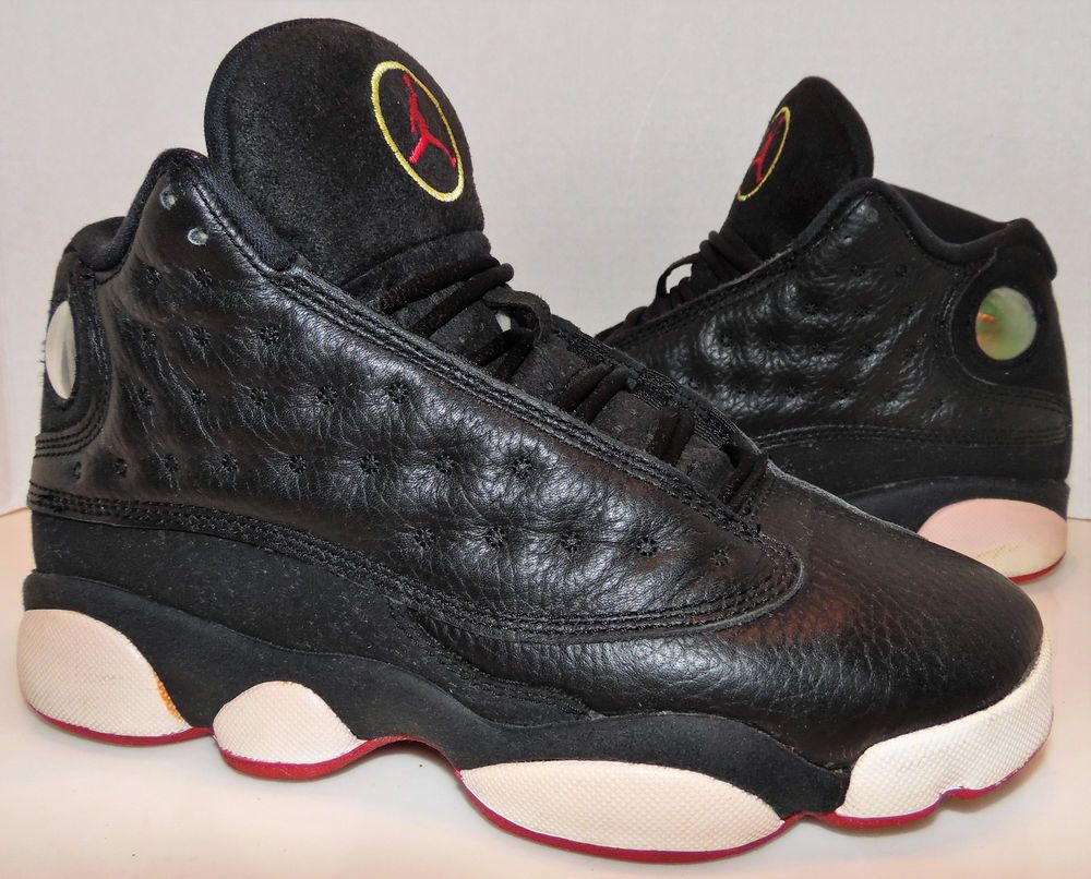 Nike Air Jordan XIII 13 Retro Playoffs Black True Red 414574-002 Size 3.5Y