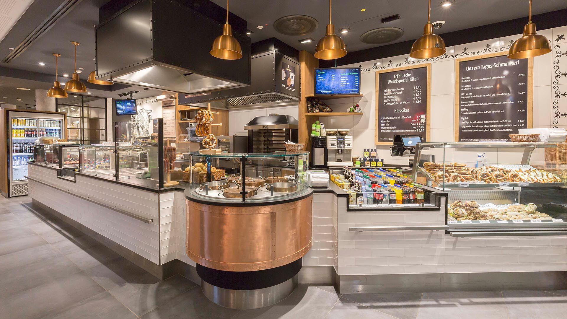Aichinger Referenzen Im Ladenbau Für Die Gastronomie