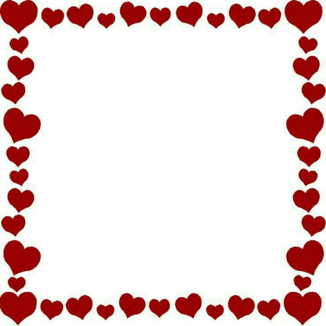 Heart Frame Free Valentine Clip Art Clip Art Borders Valentine Clipart