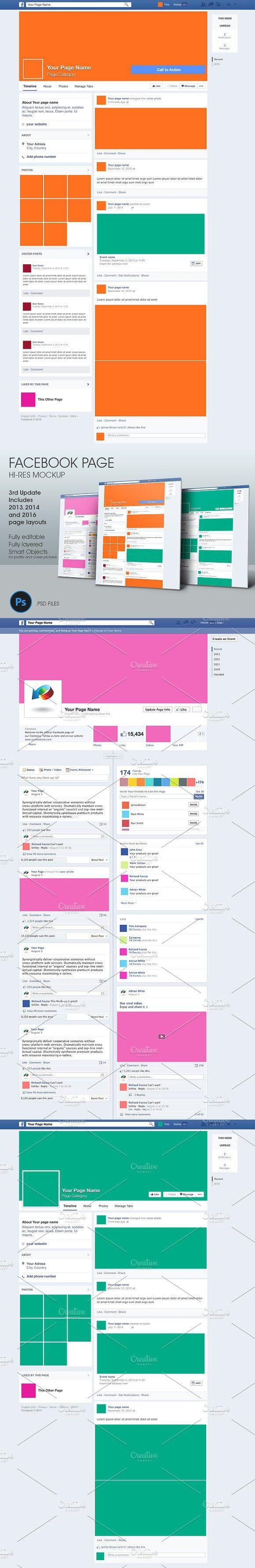 facebook page hi res mockup mockup templates pinterest mockup