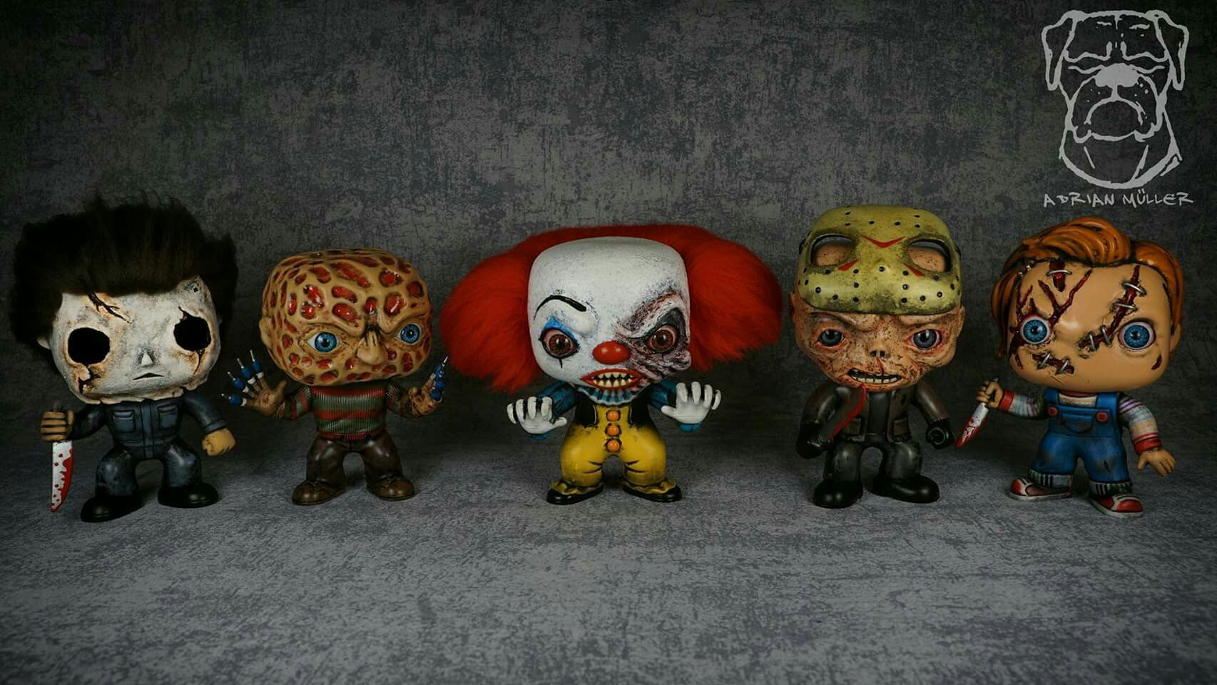Some Of My Custom Horror Classic Funko Pops Funko Pop