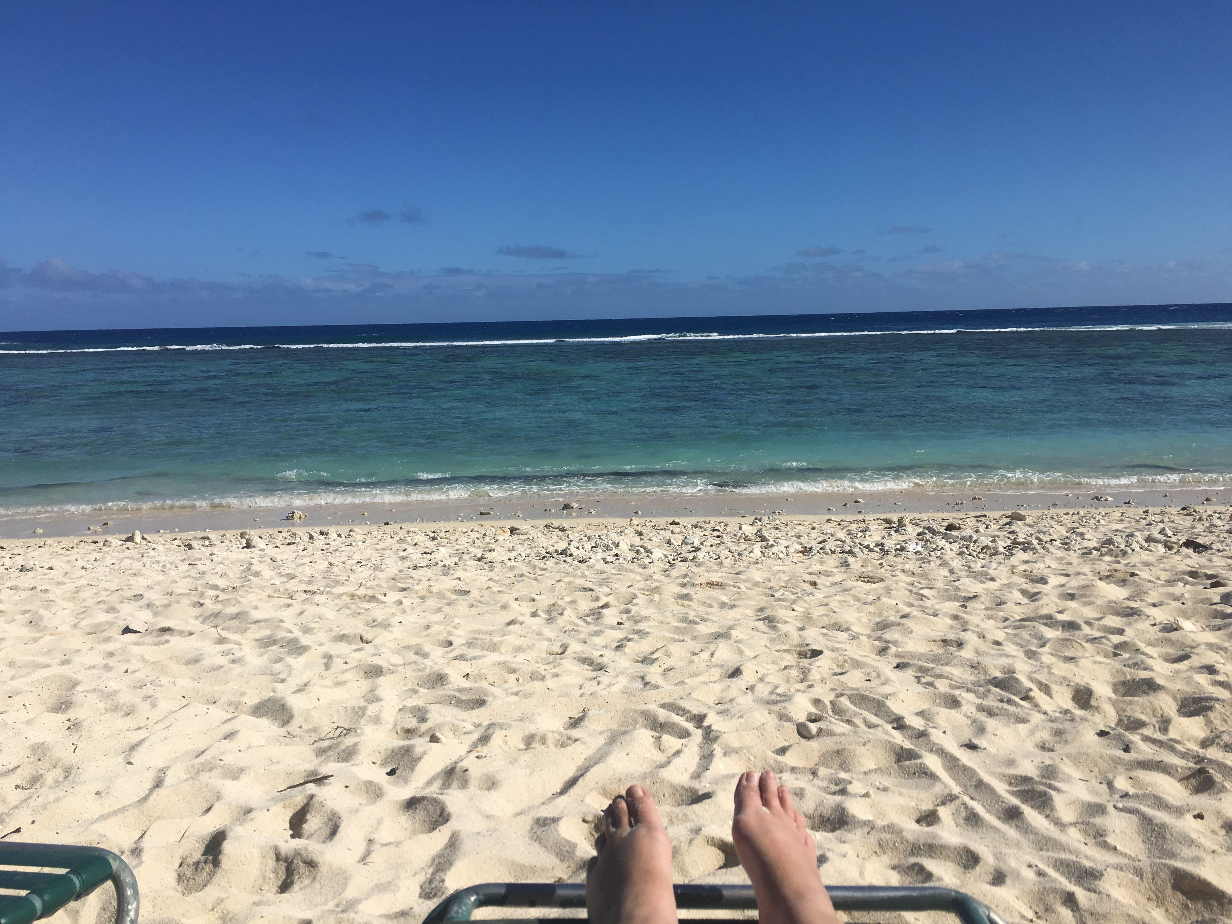 Rarotonga bliss happy days in the sun must be made when winter blues set in.
