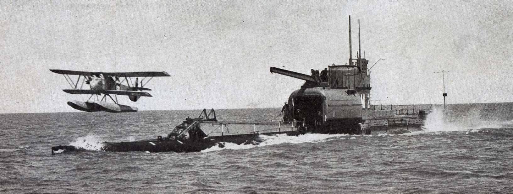 British submarine HMS M2.