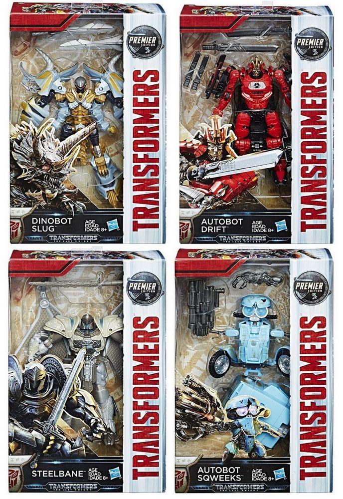 Transformers Hasbro Last Knight Premier Ed Deluxe Cogman /& Bumblebee Blaster NEW