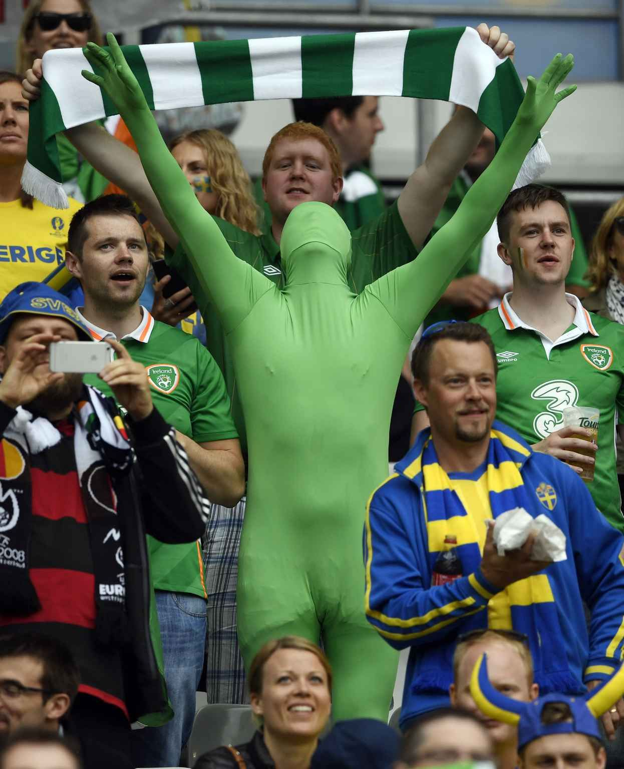 Euro 2016 Les supporters en folie Stade de france