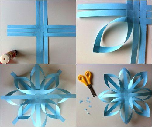 adornos de navidad estrellas de papel fciles fiestas infantiles y cumpleaos de nios
