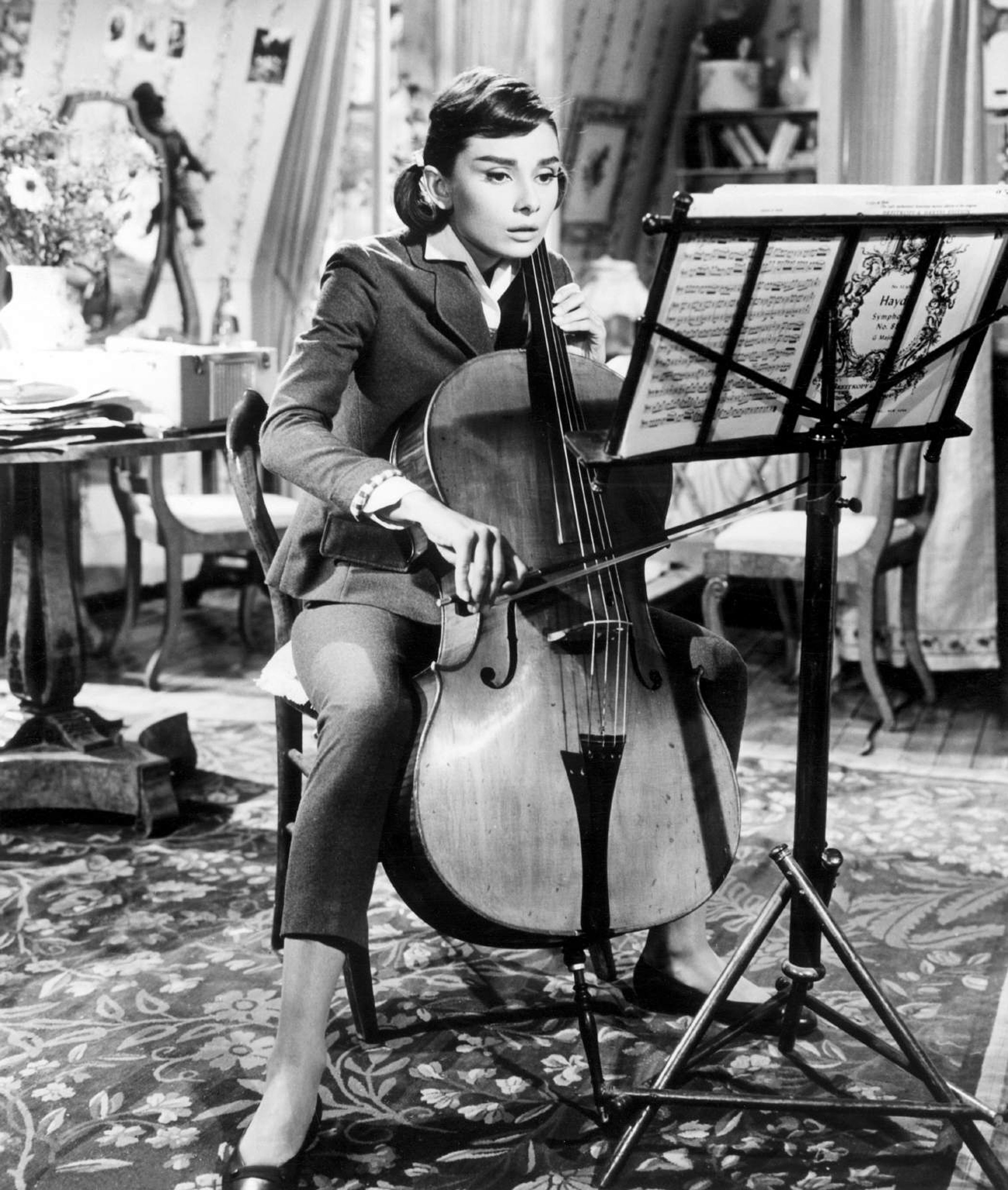 Audrey Hepburn in Love In The Afternoon (1957)