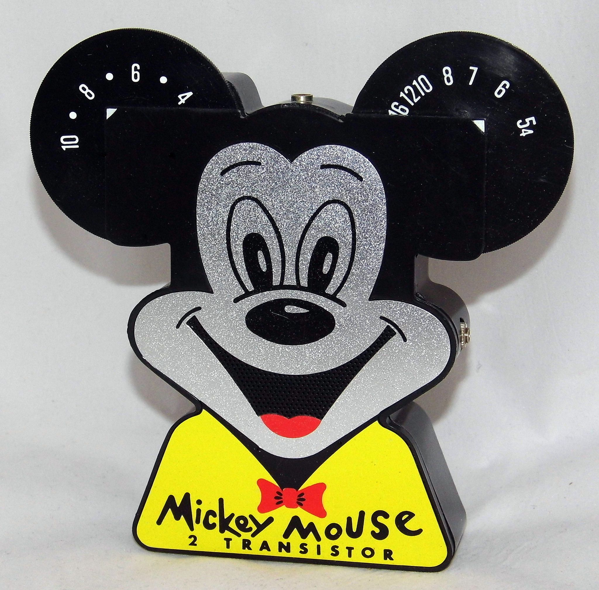 Vintage Mickey Mouse 2 Transistor Boy S Radio By Gabriel Toy Co No 015 Am Band Only Made In Japan Circa 1963 Vintage Mickey Mouse Vintage Mickey Mickey