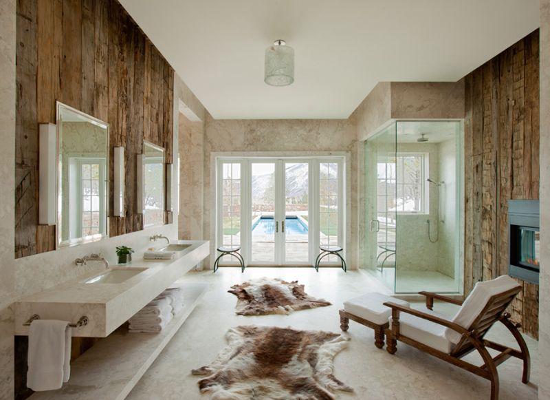 15 id es de chaises confortables pour la salle de bain. Black Bedroom Furniture Sets. Home Design Ideas