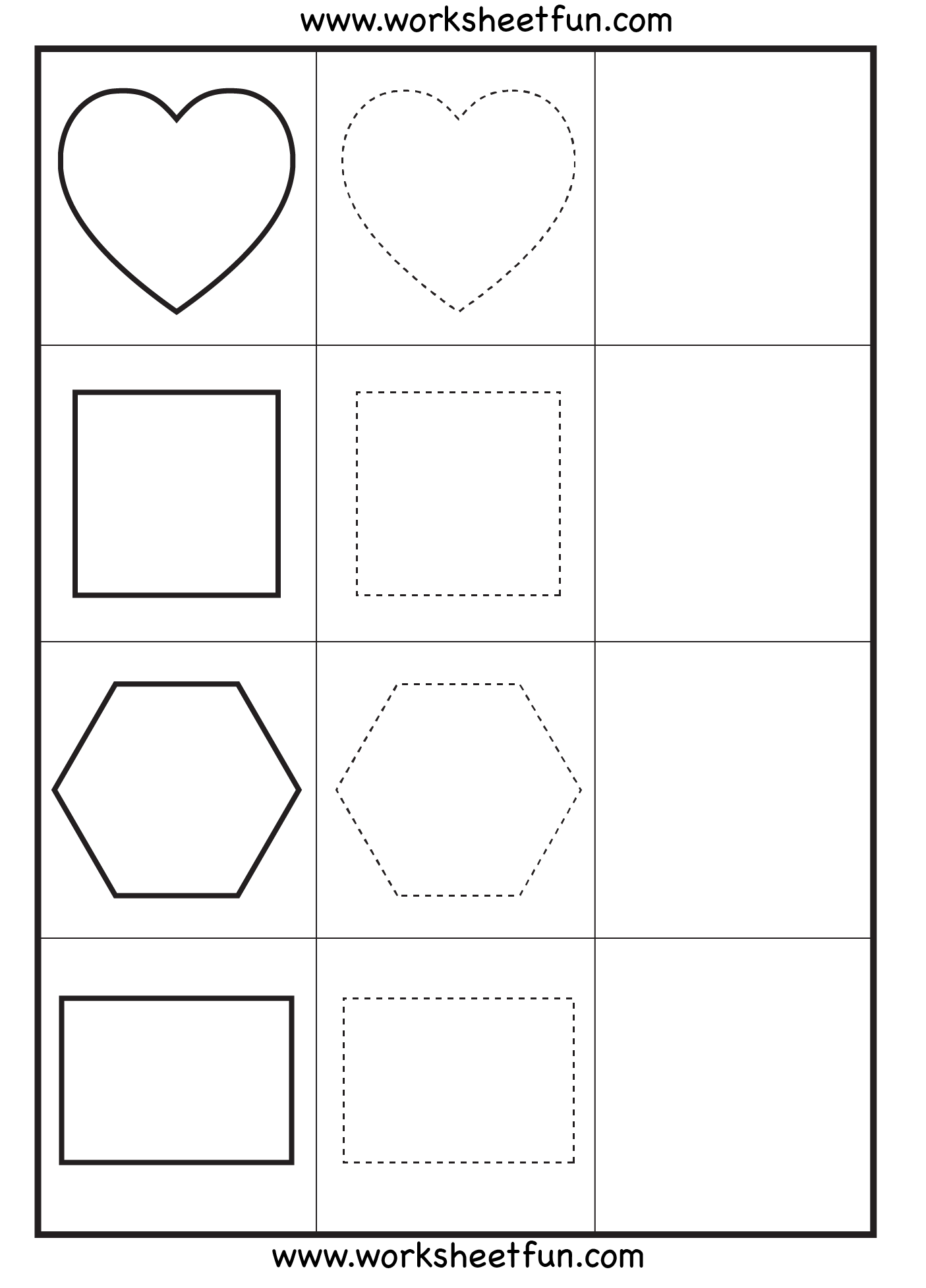 Preschool Shape Worksheet With Images