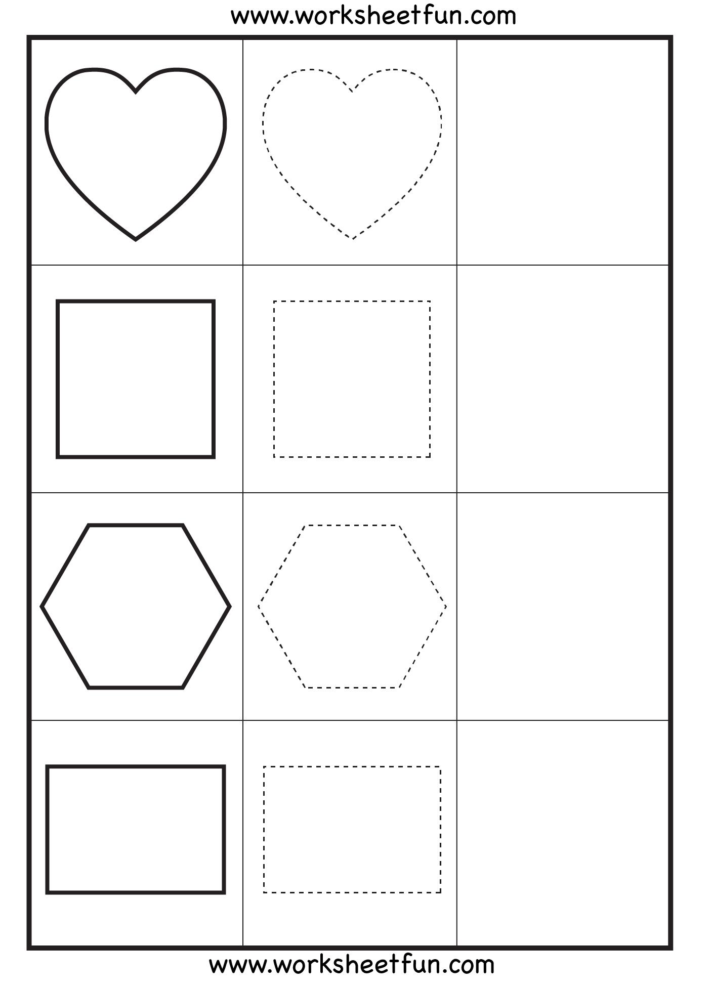 formen zeichnen vorschule kindergarten formen arbeitsbl tter und druckbare aktivit ten f r. Black Bedroom Furniture Sets. Home Design Ideas