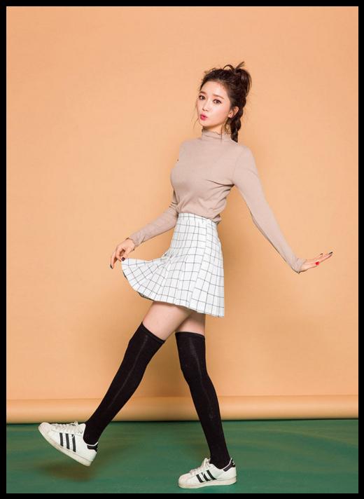 ea711c9e5c910c chuu - Check Mini Skirt #koreanfashion #checkskirt #miniskirt ...