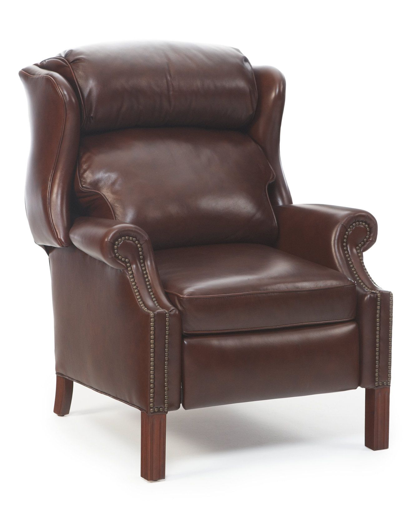 Kennedy Leather Recliner Recliners Furniture Macy s