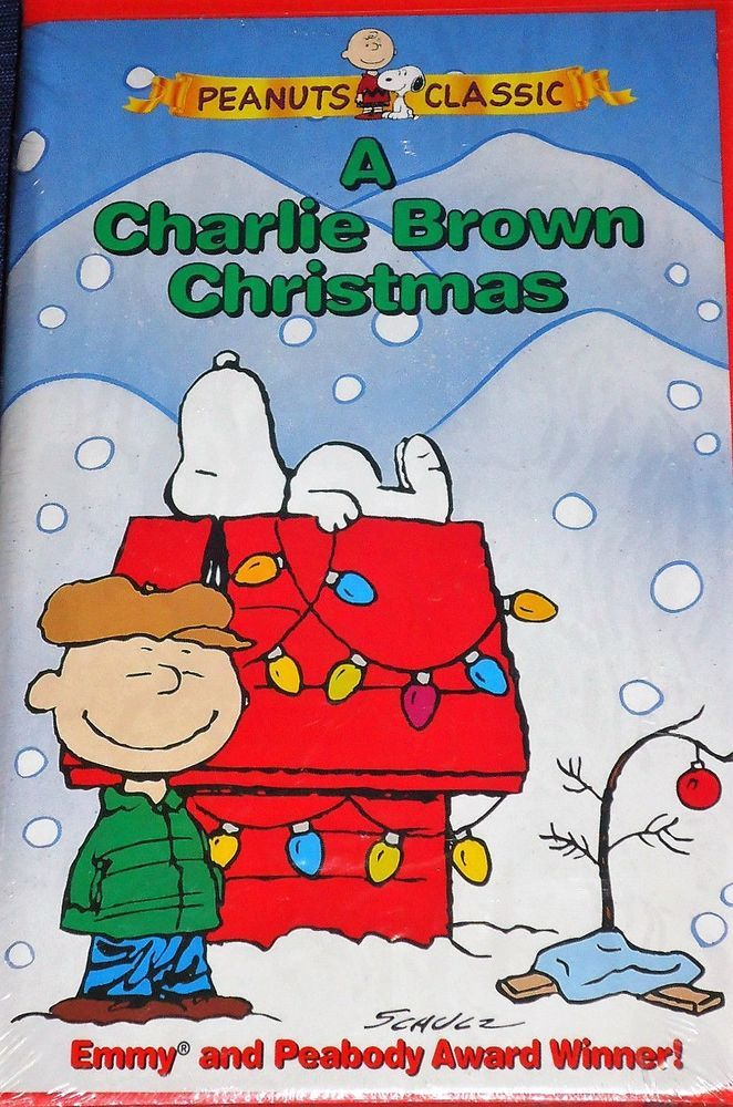 Charlie Brown Christmas Air Date 2019.A Charlie Brown Christmas Vhs 1999 Clamshell Case