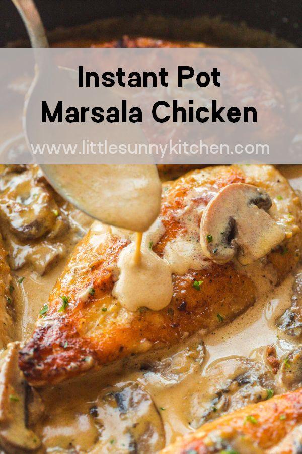 Instant Pot Marsala Chicken