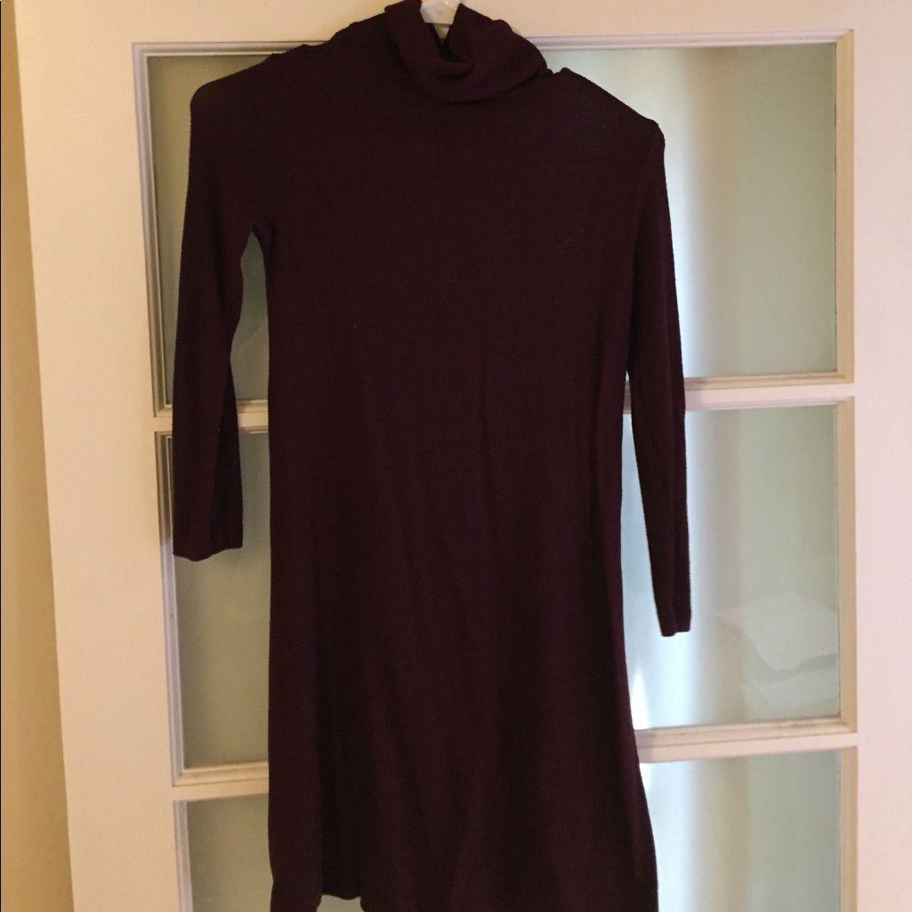 Dark purple turtleneck dress turtleneck dress and products