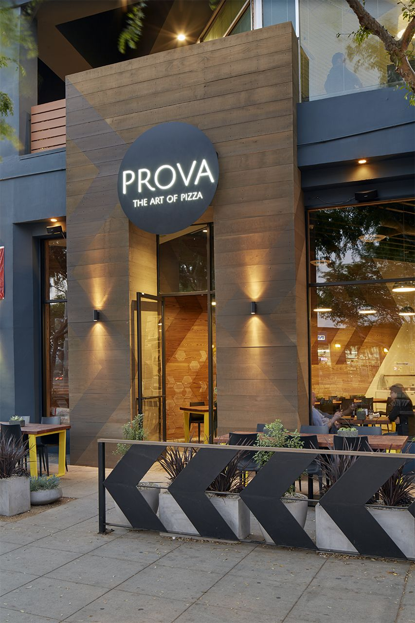 Belzberg Architects Group Prova Pizzeria Interior Retail