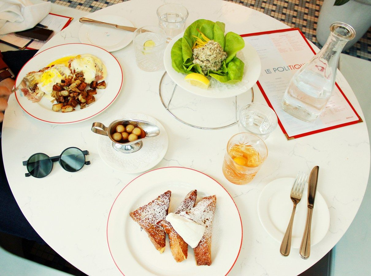 Fixed to Thrill  Parisian Brunch at Le Politique   Around Austin ...