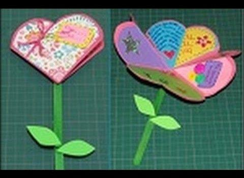 tarjeta para el dia de la madre manualidades  tarjetas  Pinterest