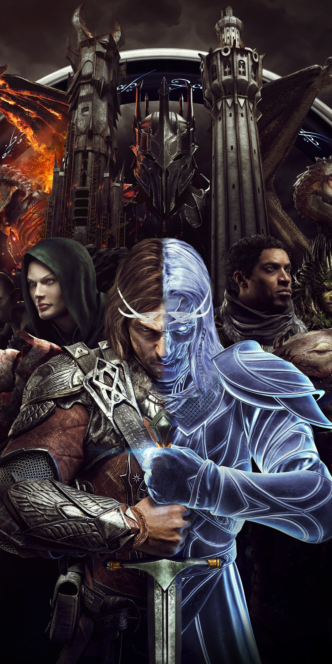 2018, video game, Middleearth Shadow of War, 1080x2160