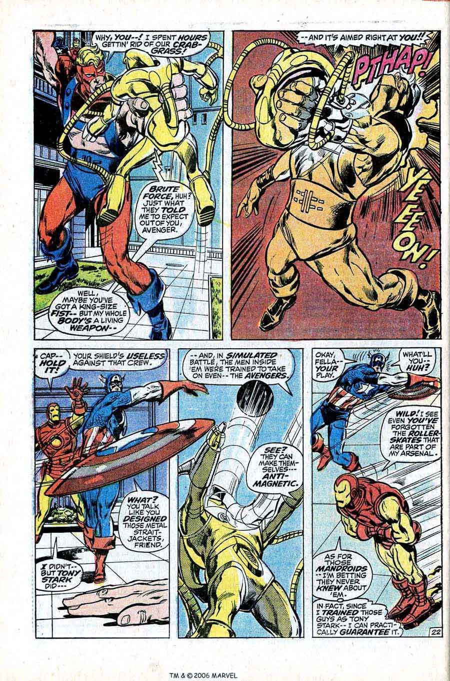 A Blog Featuring Golden Silver And Bronze Age Comic Book Art And Artists Avengers 94 Neal Adams Art Cover Comic Book Pages Comic Books Art Book Page Art