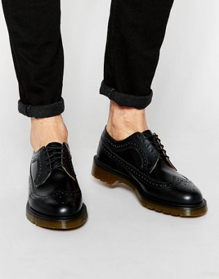 e1485a01cc Dr Martens 3989 brogues in black | 코디 | Brogues, Dr martens, Fashion