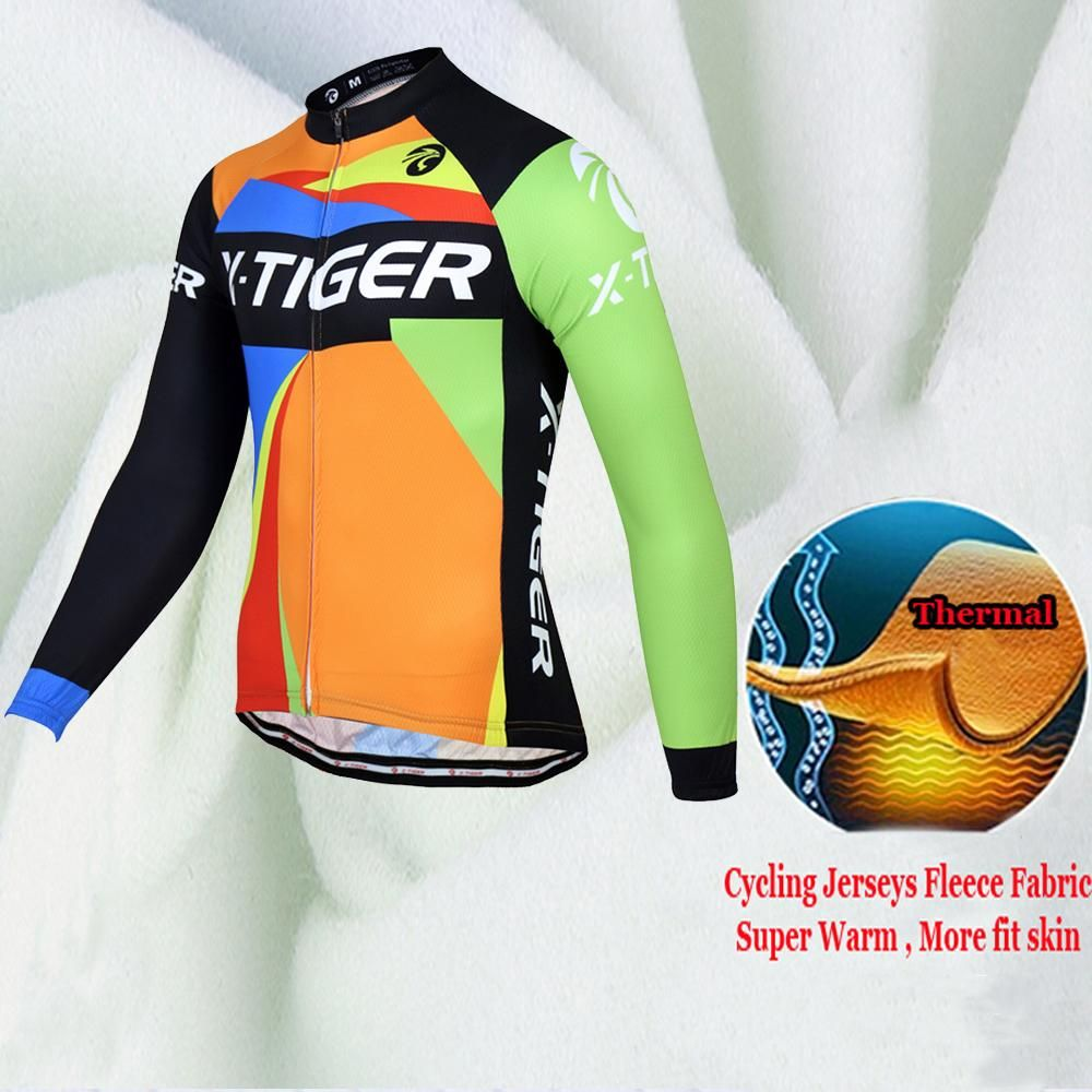98a5c55b9 100% Fleece Pro Cycling Jersey Set Specifications  Brand Name  X-TIGER  Gender