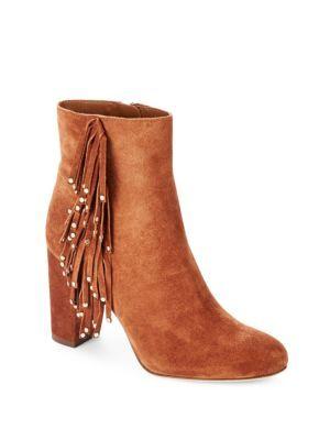 DIANE VON FURSTENBERG Forti Suede Ankle Boots. #dianevonfurstenberg #shoes #boots