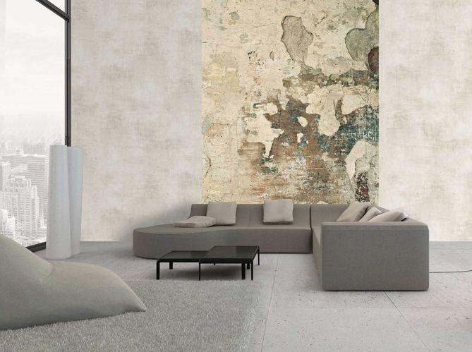 Papiers peints effet mati re on adore elle d coration papier peint mur et peindre - Papier peint effet matiere ...