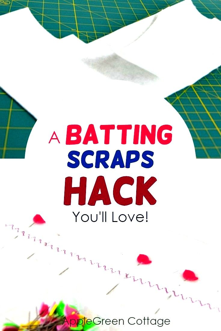 how to join batting scraps Make the most of leftover batting pieces  heres howLearn how to join batting scraps Make the most of leftover batting pieces  heres how