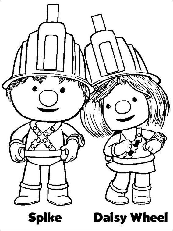 Doozers Coloring Pages 2 | Coloring pages for kids | Pinterest ...