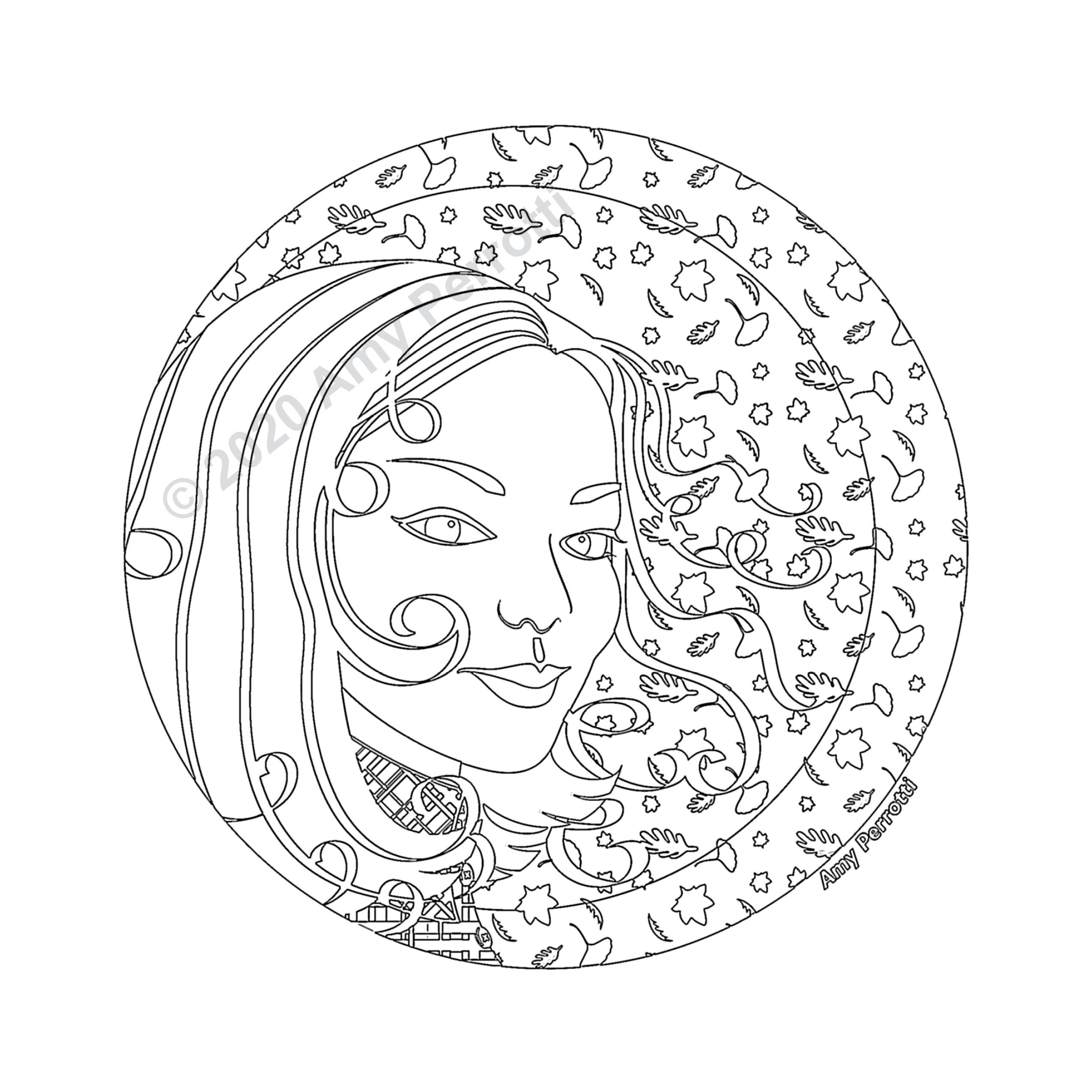 Circle Coloring Page Zoom You'll Love